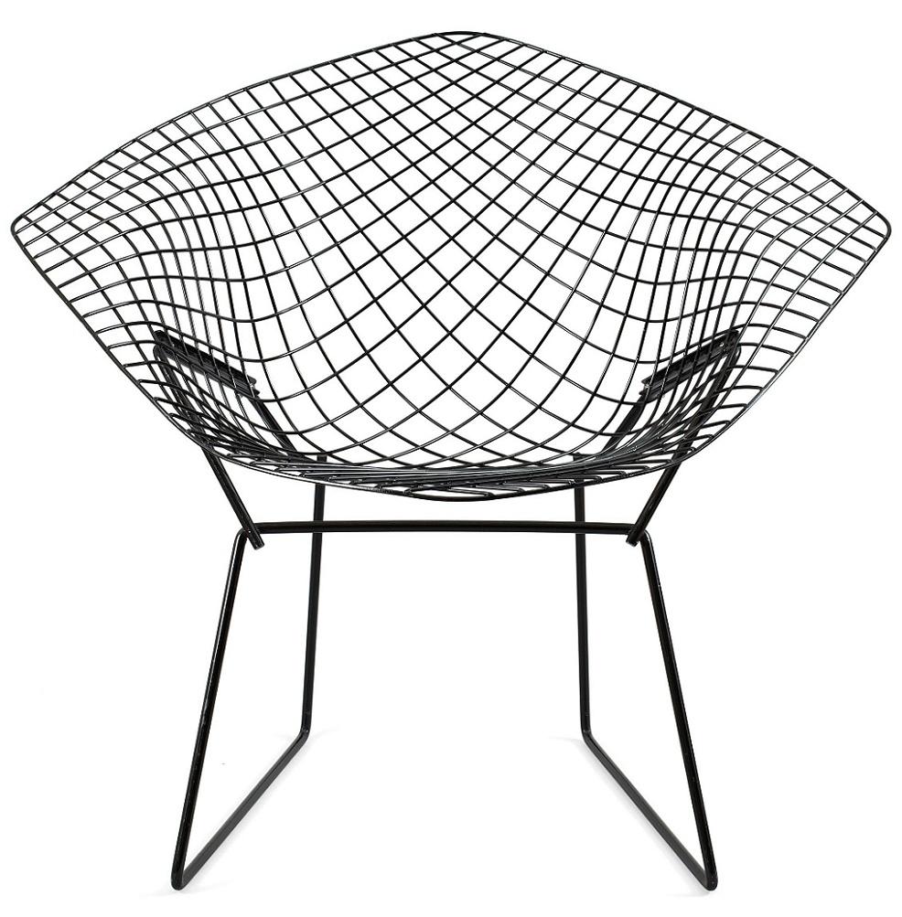 Bertoia diamond chair black - Bertoia Diamond Chair Black 7