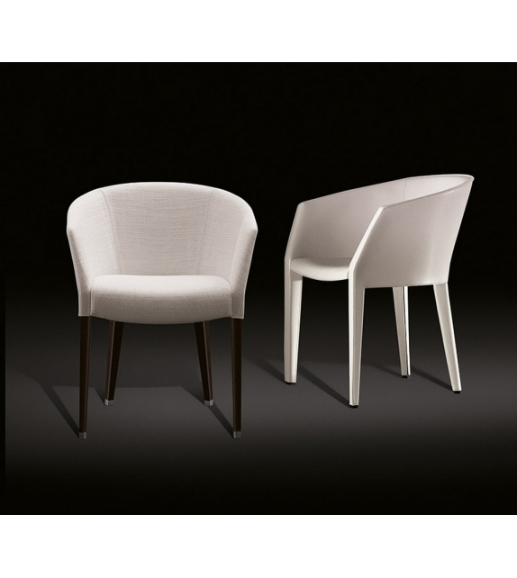 Margot Saddle Leather Armchair Giorgetti