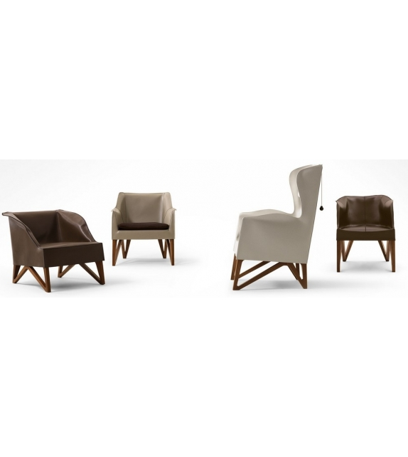 Mobius Giorgetti Armchair with Cushion