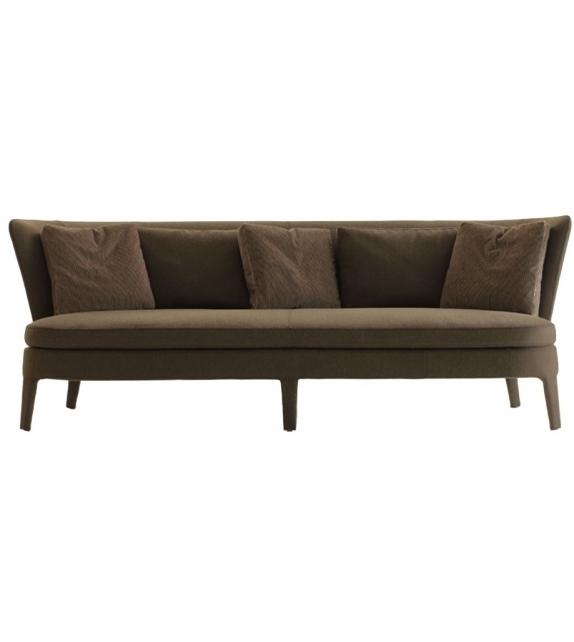 febo canap avec coussin d 39 assise bas maxalto milia shop. Black Bedroom Furniture Sets. Home Design Ideas