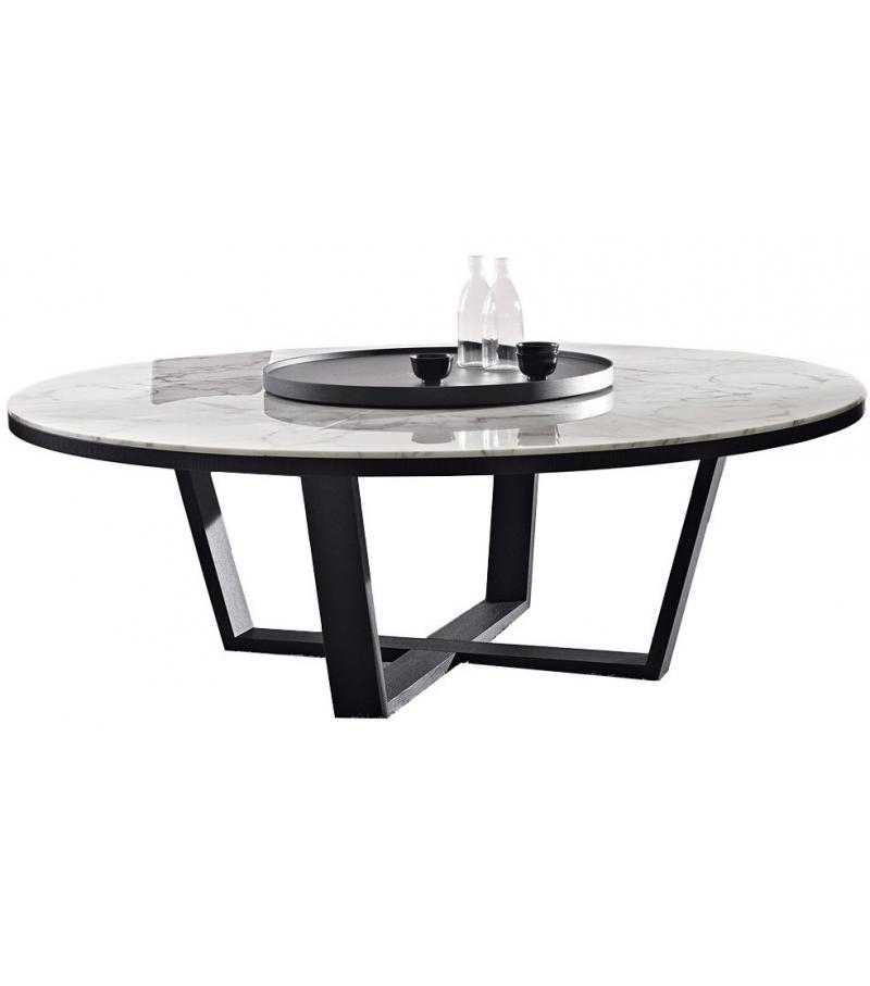 xilos tavolo rotondo con piano in marmo maxalto milia shop On tavolo rotondo 160