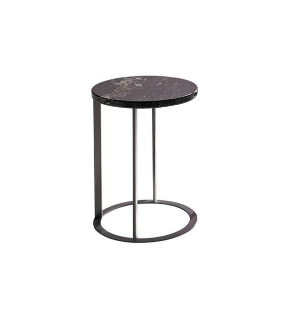 Lithos Maxalto Side Table with Marble Top
