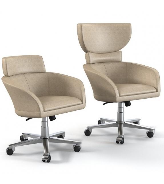 Selectus Swivel Wing Chair Giorgetti