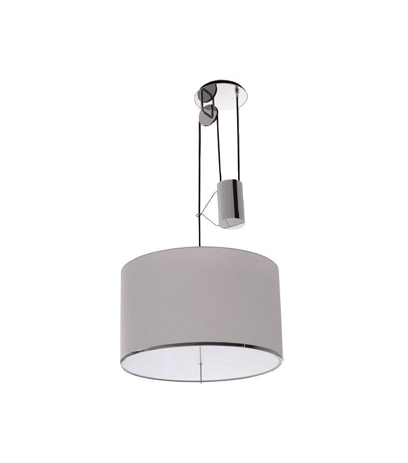 Leukon Round Suspension Lamp Maxalto