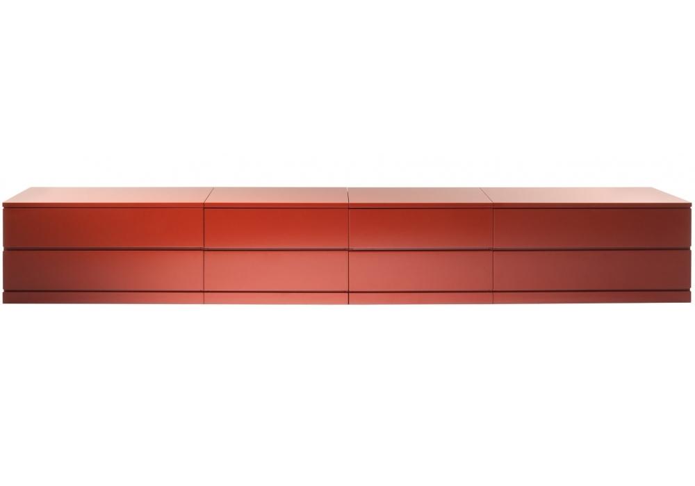 Deco meuble avec 8 tiroirs cassina milia shop for Deco meuble