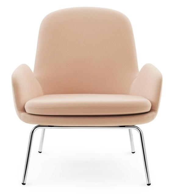 Era Lounge Chair Low With Steel Legs Normann Copenhagen Milia Shop