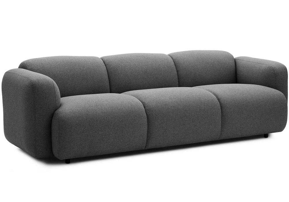 swell dreiersofa normann copenhagen milia shop. Black Bedroom Furniture Sets. Home Design Ideas