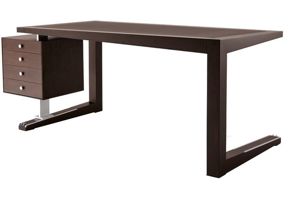 Zeno scrivania con cassettiera giorgetti milia shop