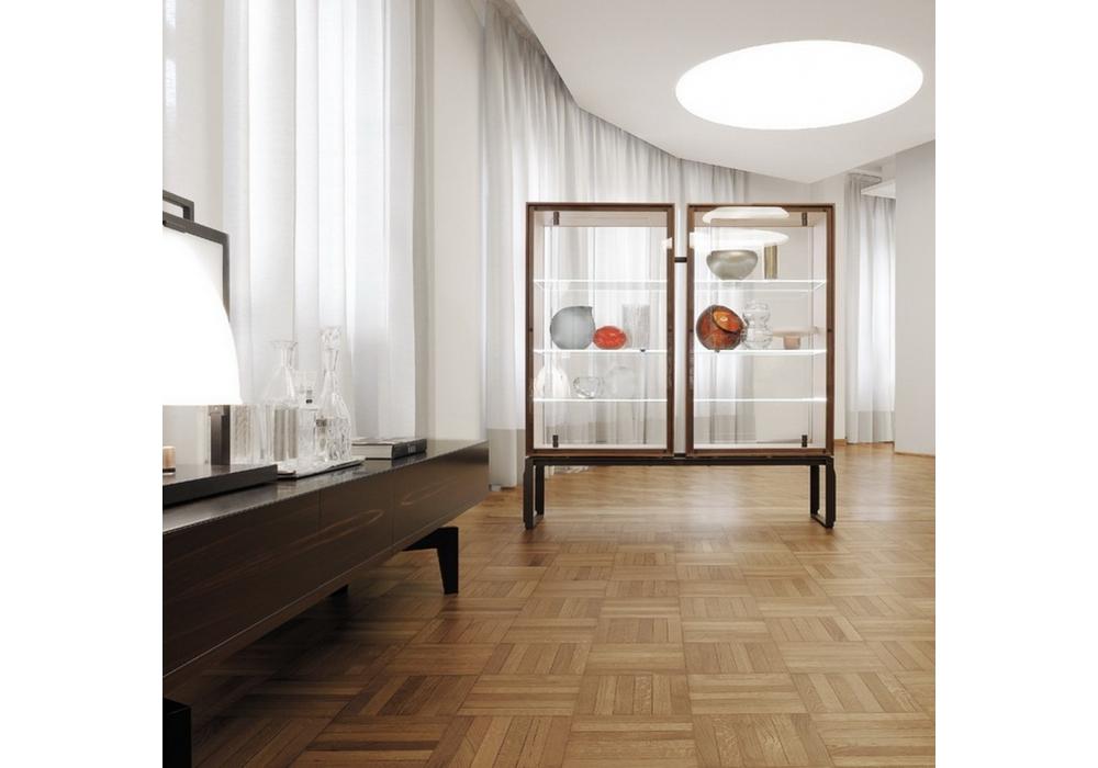 Aei Glass Cabinet Giorgetti Milia Shop
