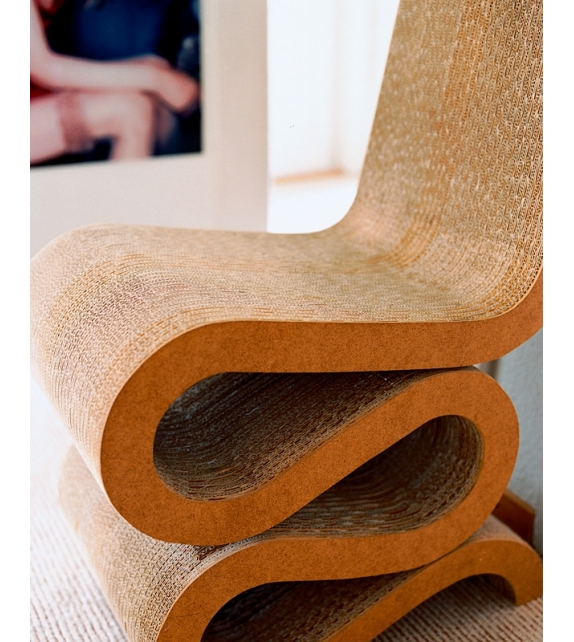 Wiggle side chair