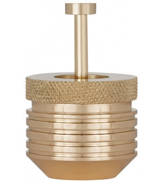 Ready for shipping - Cog Container Small Brass Tom Dixon