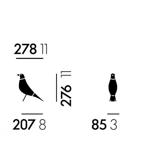 Eames House Bird Objekt