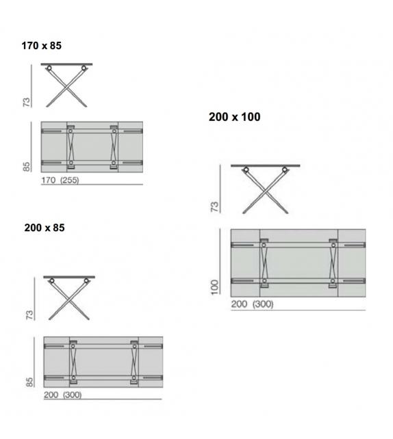 Tender 420 Table Extensible Desalto
