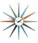 Sunburst Clock Relojes Vitra