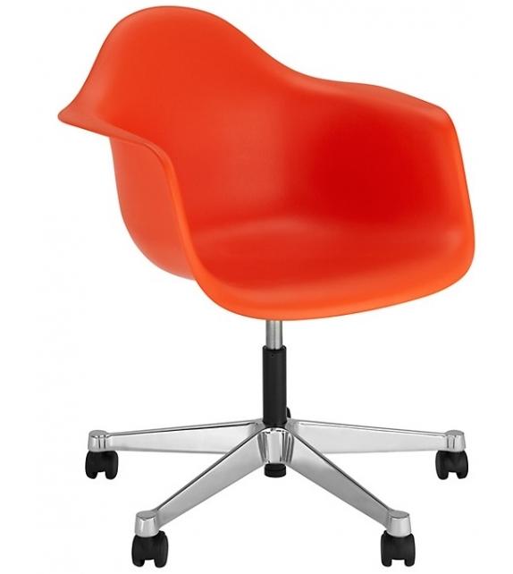 Eames Plastic Armchair PACC Chaise Pivotant Vitra