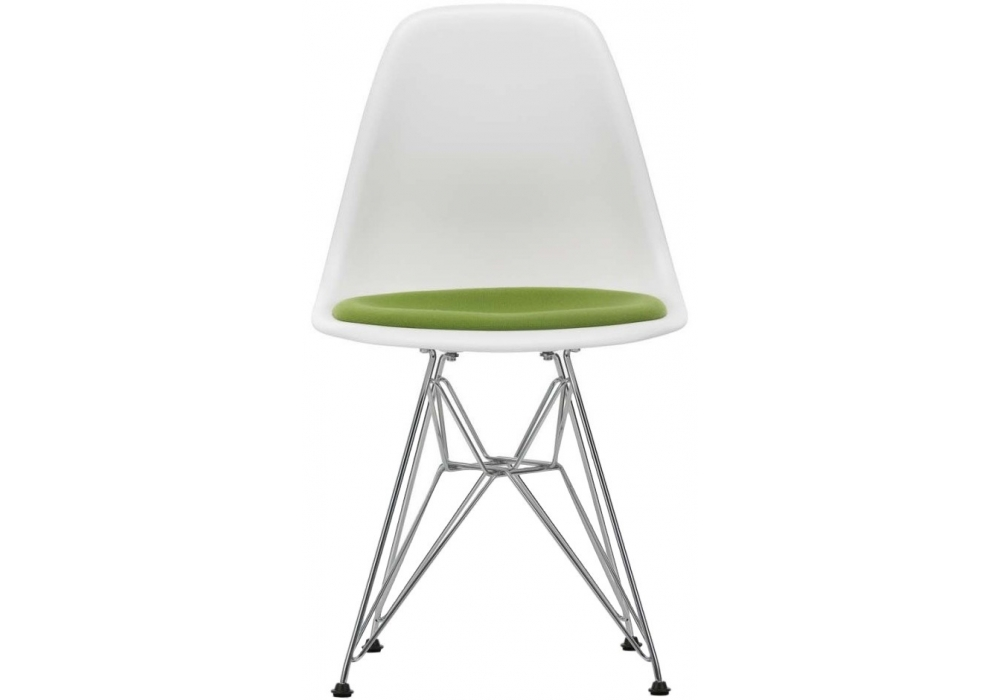 Eames Plastic Side Chair DSR With Cushion Vitra