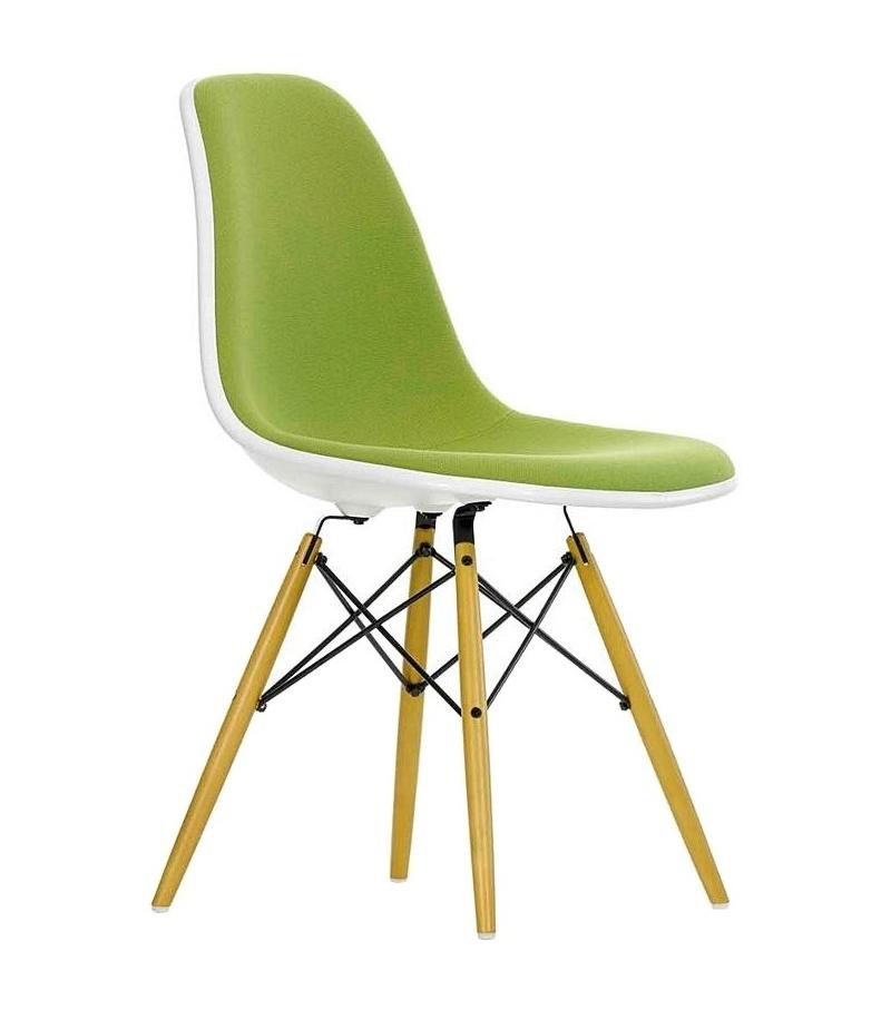 eames plastic side chair dsw padded milia shop. Black Bedroom Furniture Sets. Home Design Ideas