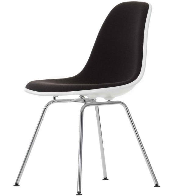 Eames Plastic Side Chair DSX Padded
