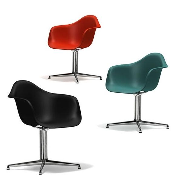 Eames plastic armchair dal poltrona vitra milia shop for Poltrone vitra
