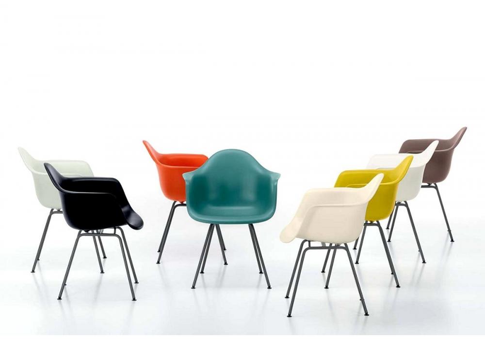 Eames plastic armchair dax poltrona vitra milia shop for Poltrone vitra