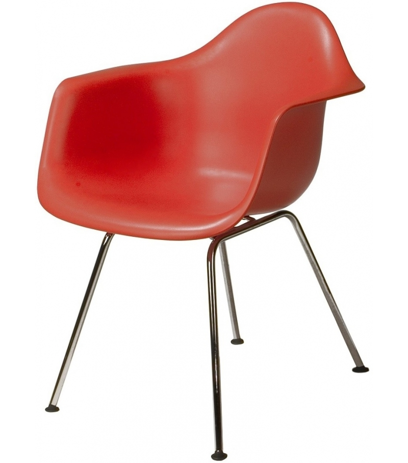 Eames plastic armchair dax vitra milia shop for Chaise longue plastique