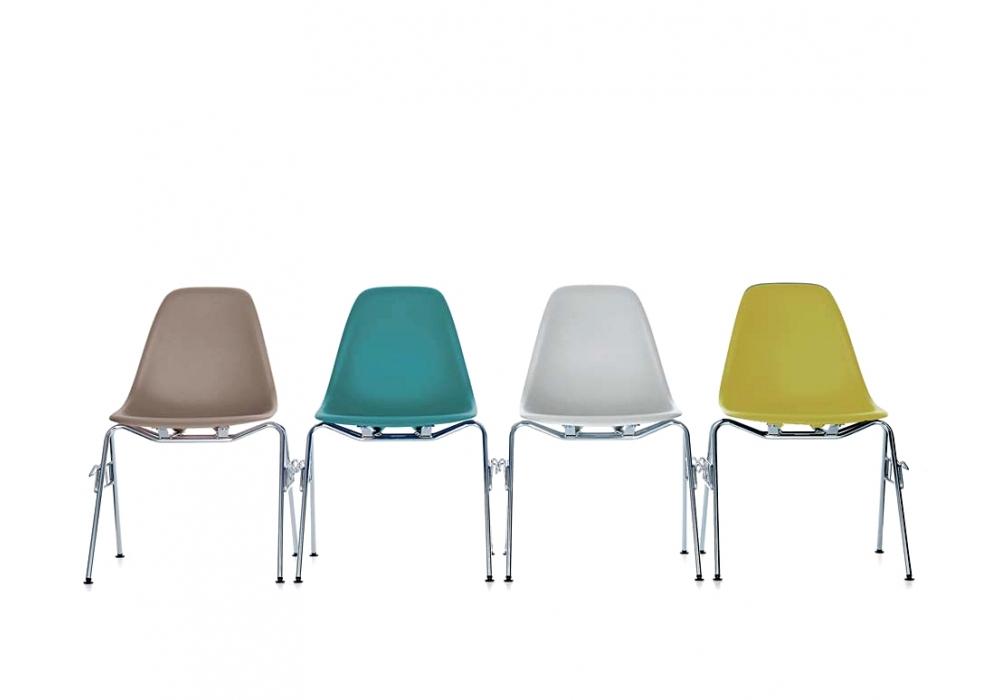 Eames Plastic Side Chair Dss Sedia Vitra Milia Shop