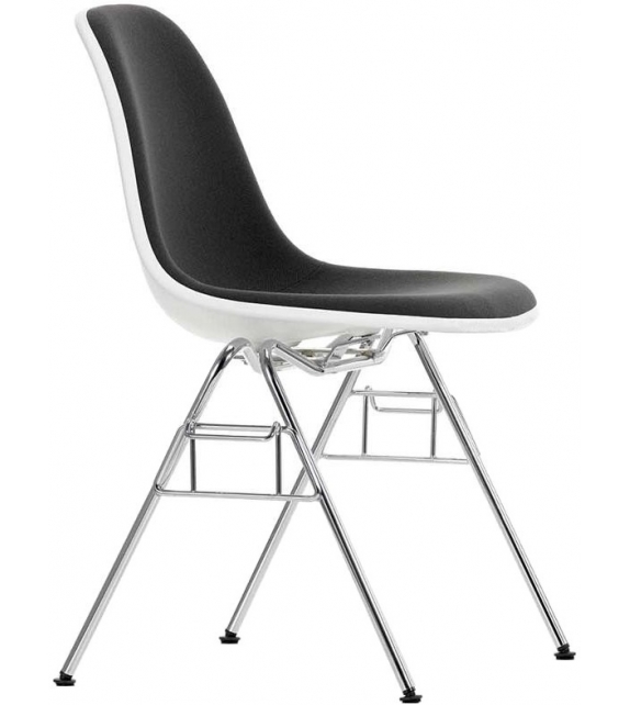 Eames plastic side chair dss sedia imbottita vitra milia for Sedia design vitra