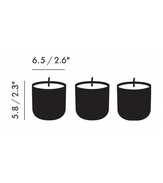 Eclectic Candle Gift Set Tom Dixon Bougies