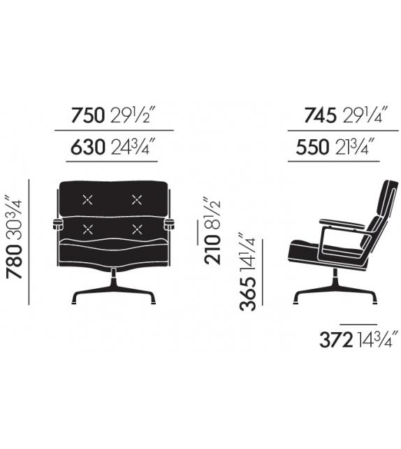 Lobby Chair ES 105 Sessel Vitra