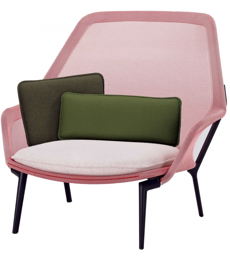 Slow chair armchair vitra milia shop for Vitra chaise