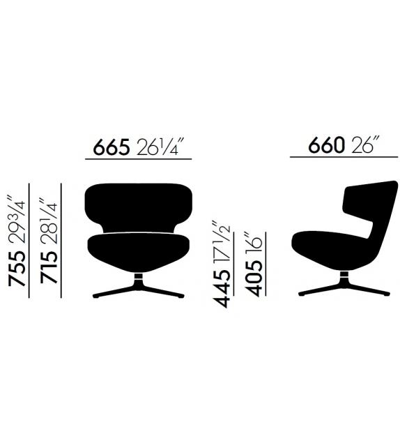 Petit Repos Low Lounge Chair Vitra