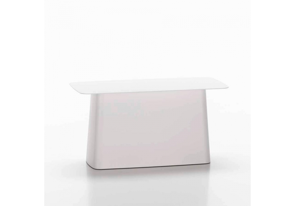 Metal side table outdoor beistelltisch vitra milia shop for Beistelltisch vitra