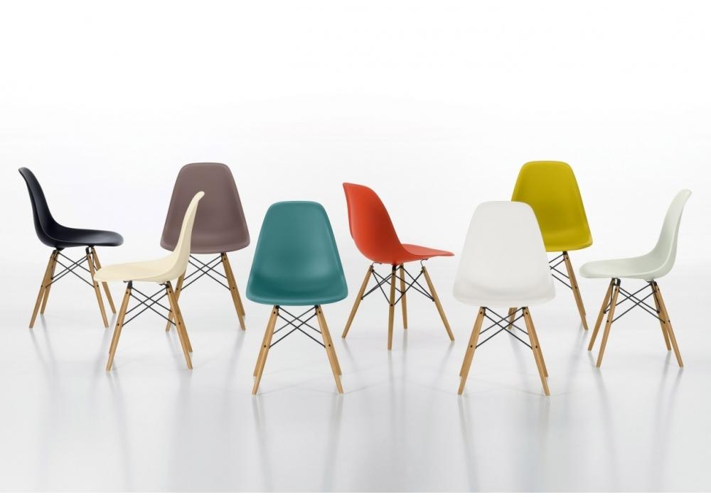 Eames Plastic Side Chair DSW Chaise - Milia Shop