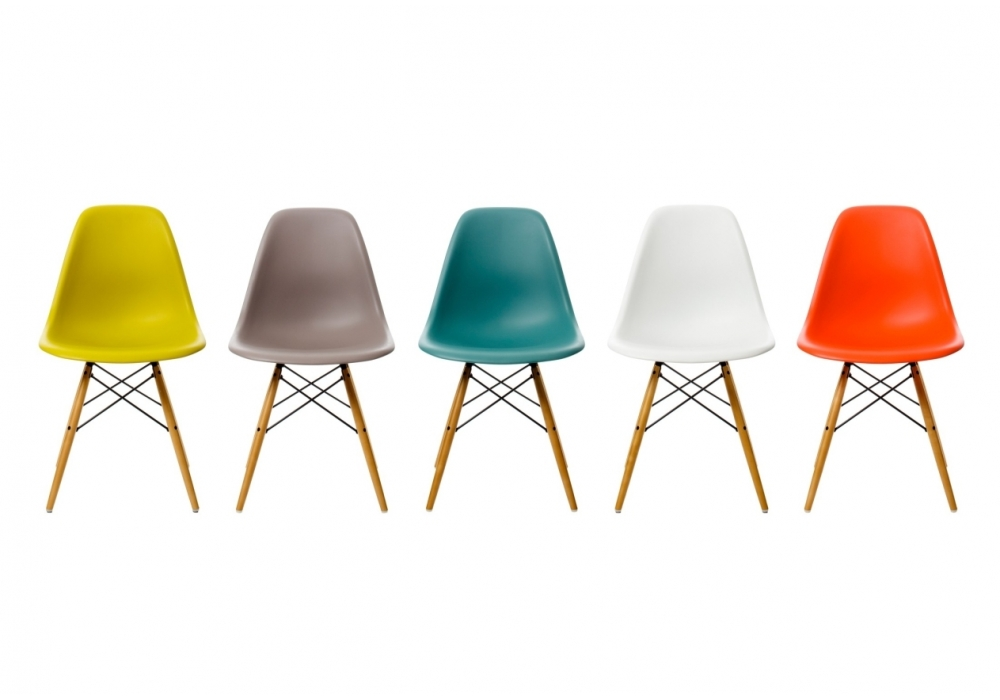 Eames Plastic Side Chair DSW Stuhl - Milia Shop