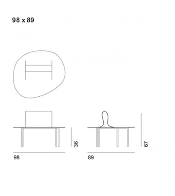 Softer Than Steel 687 mod. A Bench Desalto