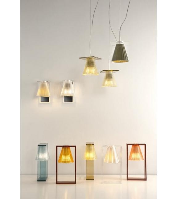 Light-Air Skulpturen Tischleuchte Kartell