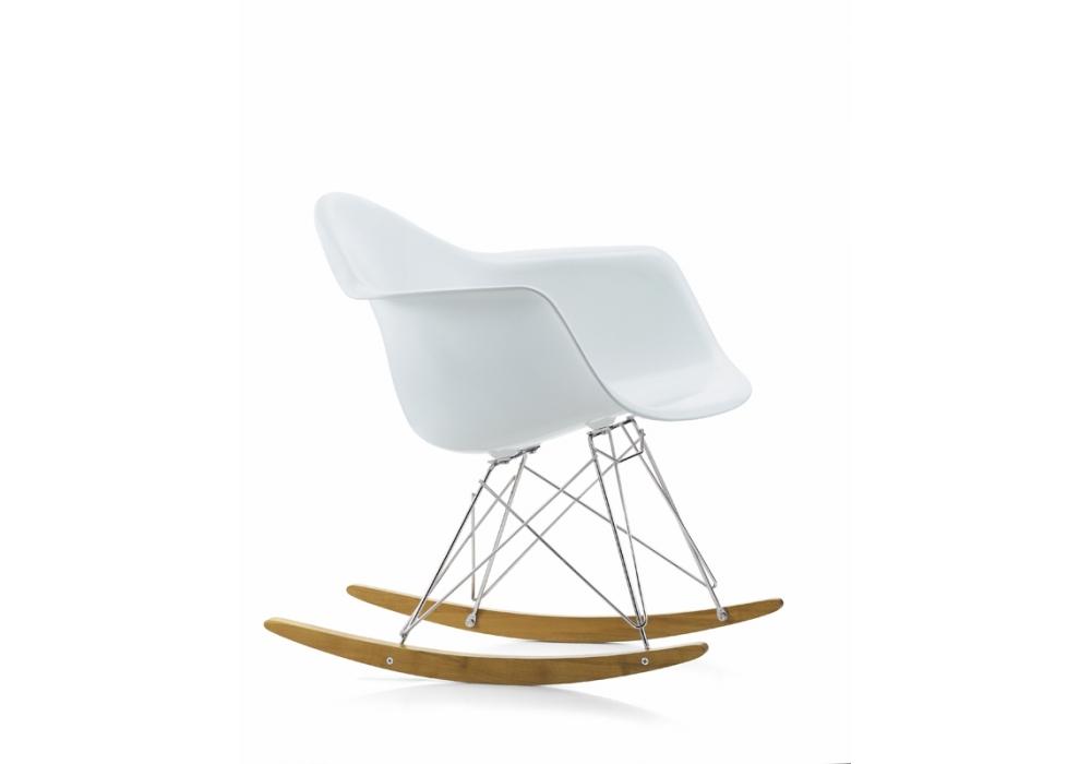 Sedia A Dondolo Rar Eames : Eames plastic armchair rar schaukel sessel vitra milia shop