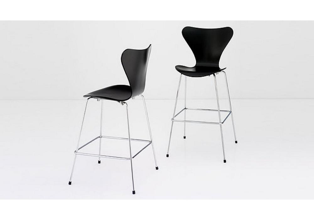 Fritz Hansen Stoel : Series counter stool fritz hansen milia shop