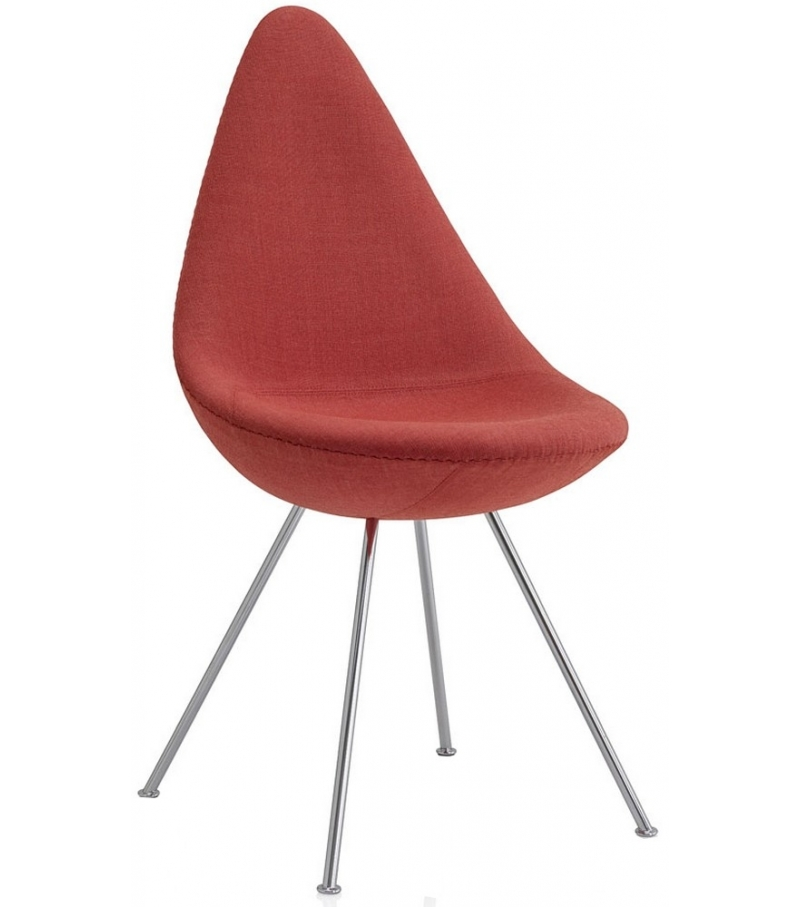 Drop Upholstered Chair Fritz Hansen