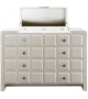 Poker Chest Of Drawers With Mirror Rugiano