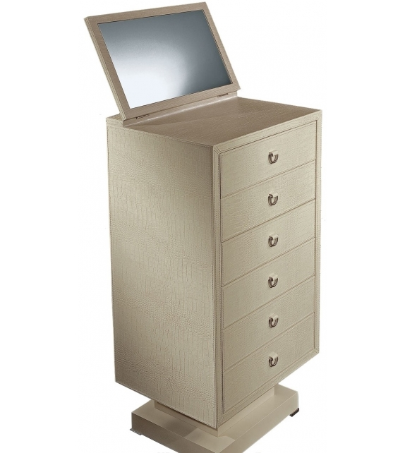 Parigi Chest Of Drawers With Mirror Rugiano
