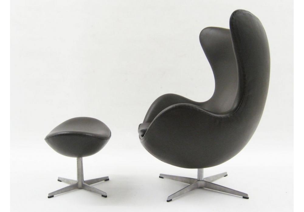Egg lounge chair fritz hansen milia shop for Chaise arne jacobsen