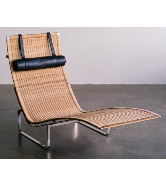 PK24™ Wicker Chaise Longue Fritz Hansen