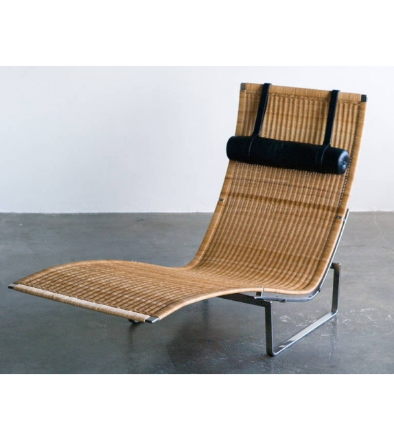 Chaise Longue PK24™ Wicker Fritz Hansen