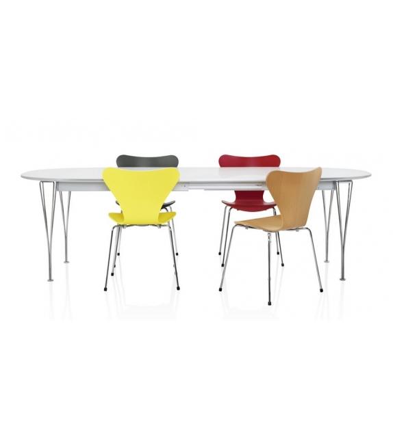 Fritz Hansen Table Series Super-Elliptical Span Legs
