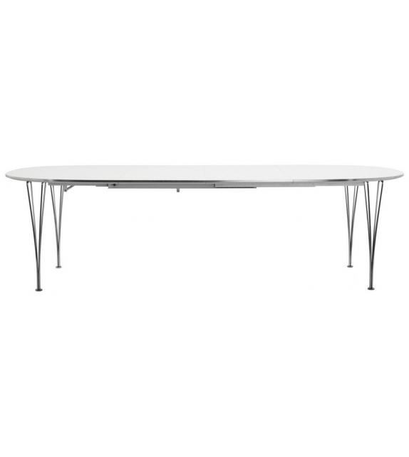 Table Series Super-Elliptical Expandable Span Legs Fritz Hansen