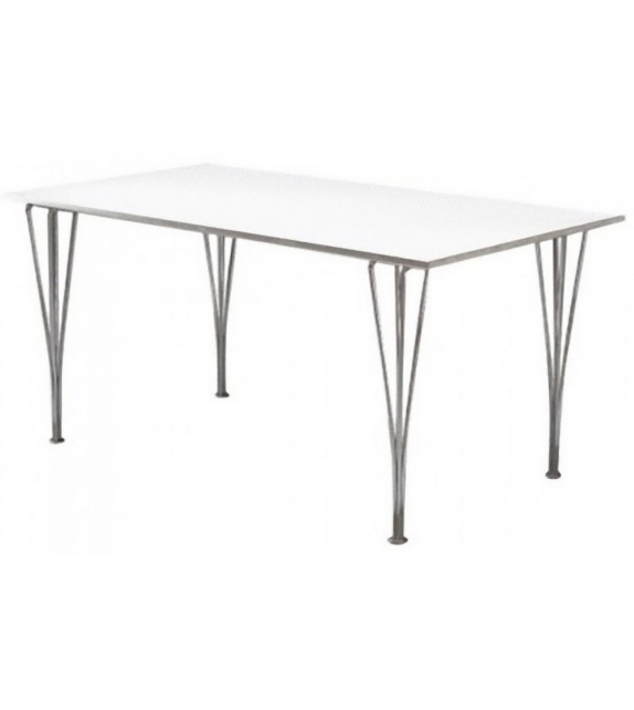 Table Series Rectangular Span Legs Fritz Hansen
