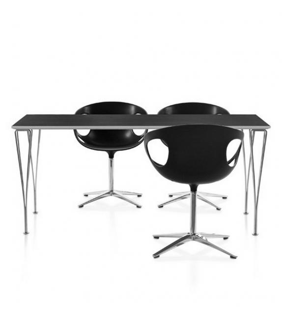 Table Series Rectangulair Span Legs Fritz Hansen