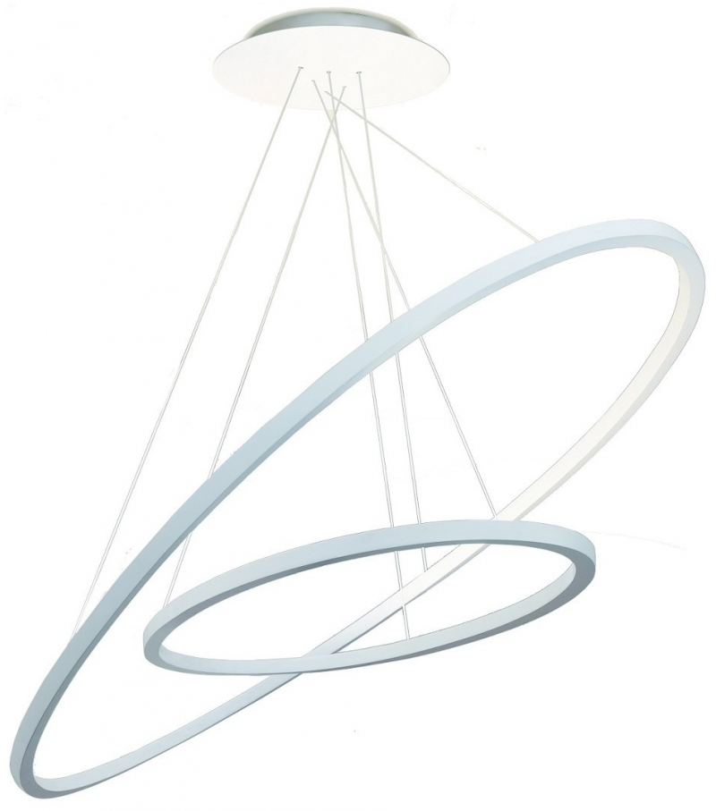 Ellisse Double Suspension Lamp Nemo Ark