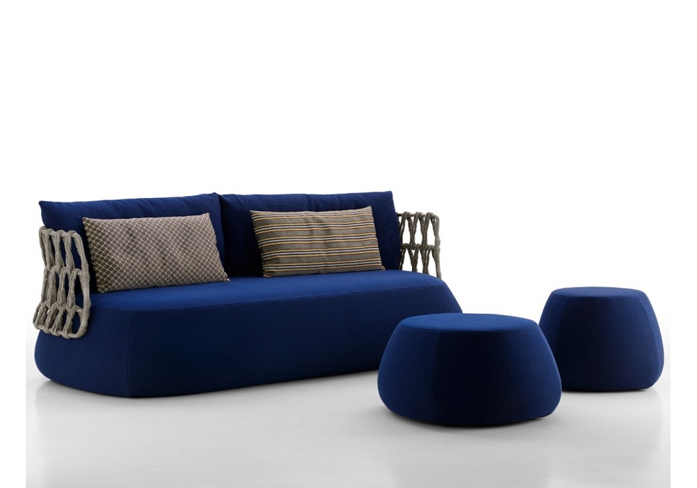 Fat sofa outdoor pouf b b italia milia shop for B b couch
